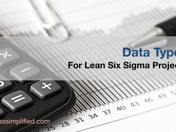 Data Type for Lean Six Sigma Projects