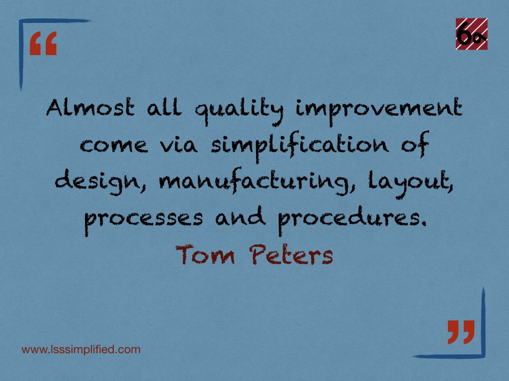 Lean Six Sigma Quotes