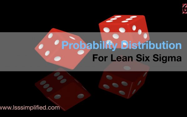 Probability Distribution for Lean Six Sigma
