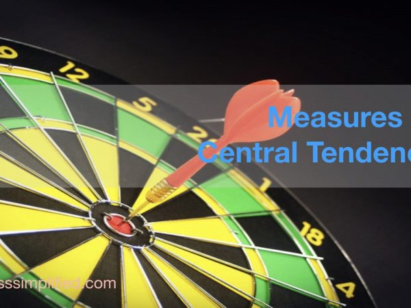 What are the measures of Central Tendency
